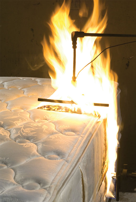 mattress-burn-test